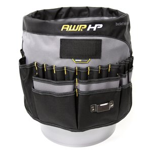 AWP HP Bucket Tool Organizer Extreme with Magnet Strip