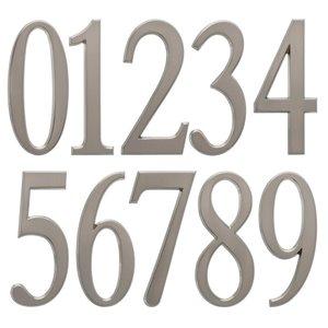 Whitehall 5-in Satin Nickel Number