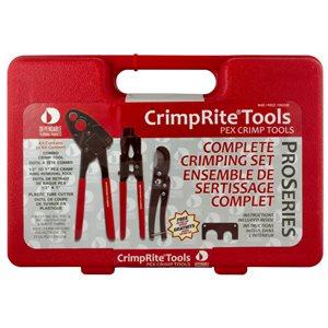 CrimpRite Plumbing Crimping PEX Pipe Tool Kit