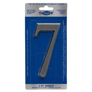 Whitehall 5-in Satin Nickel Number