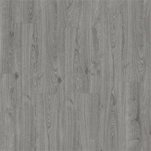 Kronotex Raven Ridge Timeless Oak Grey 7.4-in W x 4.51-ft L Embossed Wood Plank Laminate Flooring