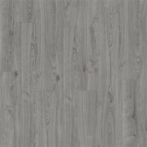 Kronotex Raven Ridge Timeless Oak Grey 7.4-in W x 4.51-ft L Embossed Wood Plank Laminate Flooring