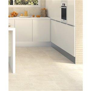 Euro Collection Dinatura Travertino Beige Ceramic 13-in x 13-in Floor Tile