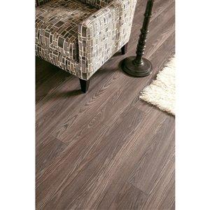 allen + roth 12mm Provence Oak Laminate Flooring Sample