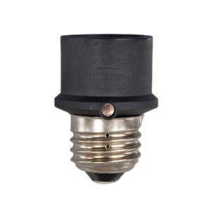 Westek Outdoor/Indoor Dusk to Dawn Light Control for Incandescent Bulbs, Black