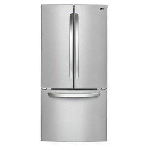 LG 23.9-cu ft 3-Door French Door Refrigerators LFC24786ST