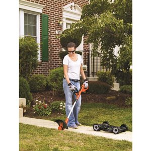 BLACK & DECKER 12-in 20V MAX Cordless Electric Push Lawn Mower