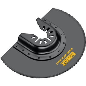 DEWALT Bi-Metal Oscillating Flush Cut Blade for Wood with Nails