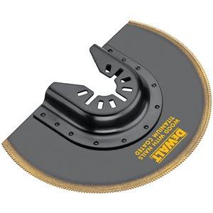 DEWALT Titanium Oscillating Flush Cut Blade