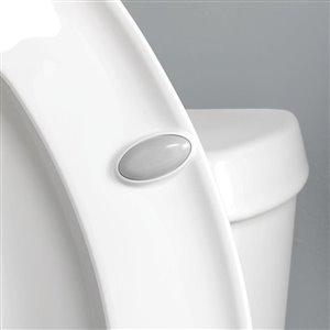 Church White Wood Round Slow-Close Toilet Seat