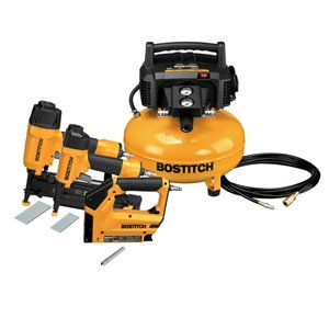 Bostitch 6-Gallon Single Stage Portable Electric Pancake Air Compressor