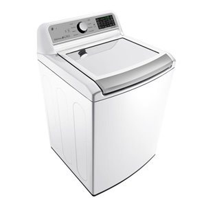 LG 5.8-cu ft High-Efficiency Top-Load Washer (White) ENERGY STAR