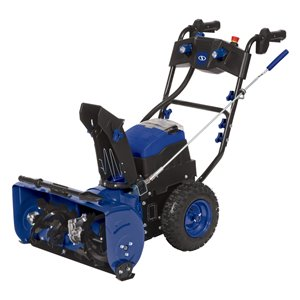 Snow Joe 80-Volt 24-in Single-Stage Push with Auger Assistance Cordless Electric Snow Blower