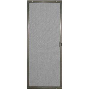 Screen Tight Patio Matic Bronze Aluminum Screen Door