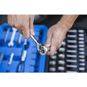 Kobalt 63-Piece Standard (SAE) and Metric Mechanic's Tool Set with Hard Case