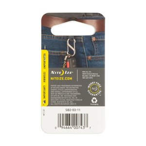 Nite Ize S-Biner Stainless Steel Double Gated Carabiner