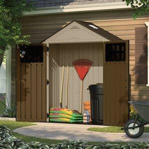 Suncast 7-ft x 3-ft Everett Gable Storage Shed