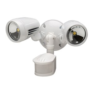 Heath Zenith 180 Degree Motion Activated LED Light 1338 LM
