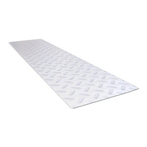 8.75-in x 24-in Clear Rectangular Stair Tread Mat
