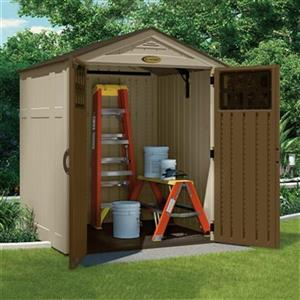 6-ft x 5-ft Everett Gable Resin Storage Shed