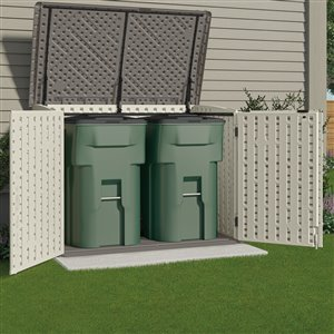 Suncast 5-ft x 3-ft Stow-Away Horizontal Storage Shed