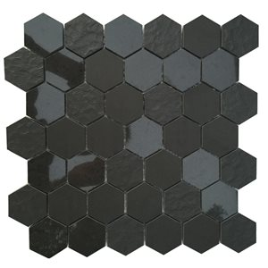 Bestview Ancient Sky 12-in x 12-in Porcelain Mosaic Wall Tile