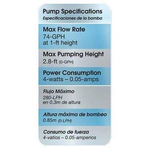 smartpond 50 to 80-GPH Submersible Pond Pump