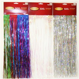 Assorted 500-Count Premium Decorative Icicles