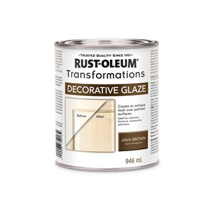Rust-Oleum Transformations 946ml Java Brown Decorative Glaze