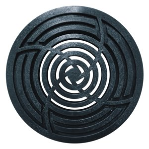 3-in - 4-in Dia. Black Round Drain Irrigation/Drainage Grate