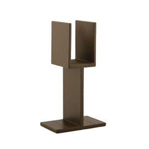 Yard Bronze Deck Stair Rail Support Leg