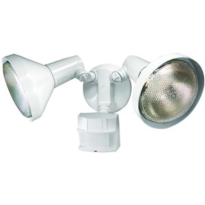 Heath Zenith 240 Degree Halogen Motion Security Light White