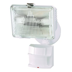 Heath Zenith 180 Degree Motion Activated Halogen Light