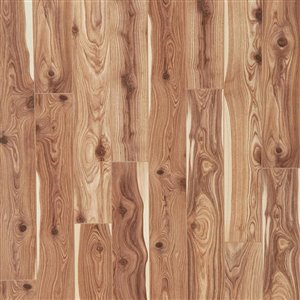 allen + roth Winsome Cypress 4.84-in W x 3.96-ft L Embossed Wood Plank Laminate Flooring