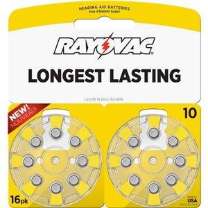 Rayovac 16-Pack 10 Hearing Aid Battery