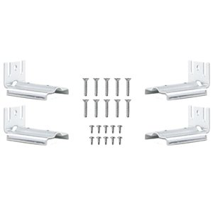 Vision 4-Pack 2-in x 4-in x 4-in Galvanized/Coated Fastener Kit