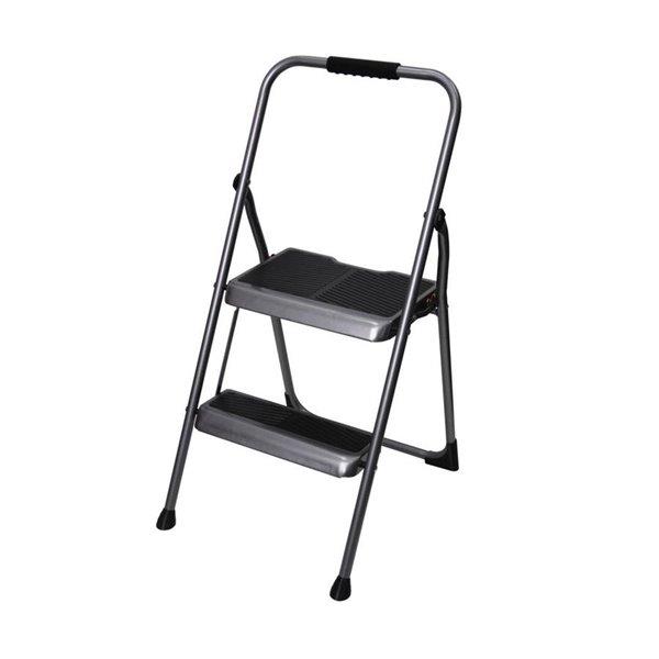 Astonishing Werner 2 Step Steel Foldable Step Stool Lamtechconsult Wood Chair Design Ideas Lamtechconsultcom