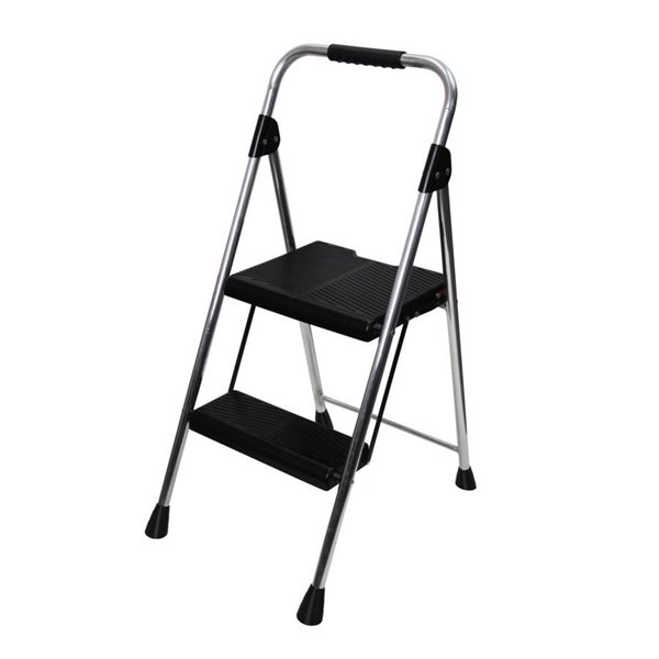 Fabulous Werner 2 Step Aluminum Step Stool Pabps2019 Chair Design Images Pabps2019Com