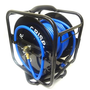 Crisp-Air 1/4-in x 100-ft Hose with Hose Reel