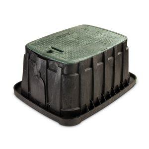 12-in L. Rectangular Irrigation Valve Box