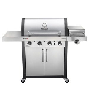 Char-Broil 4-Burner Propane Gas Grill with Side Burner 466242716