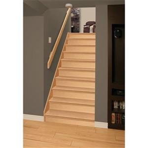 36-in x 10 1/8-in Veneer Maple Interior Stair Tread and Riser Kit