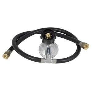 Char-Broil 3/8-in 0.3125-in dia x 20.0-in L Standard Propane Tank Regulator with Hose
