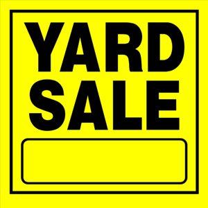 Hillman 11-in x 11-in Yard Sale Sign