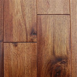 Master's Choice 3/4-in Thick Caramel Acacia Solid Hardwood Flooring (5-in Wide x Various Lengths)