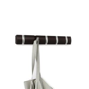 Umbra Umbra 318850-213 Espresso Flip Coat 5 Hook