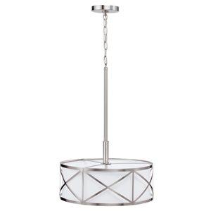 Kichler 3 Light Drum Pendant Cross