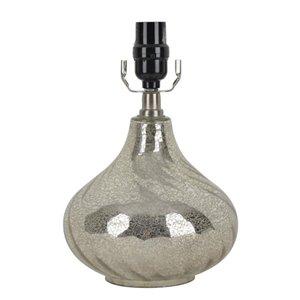 allen + roth 10.5-in Mercury Swirl Lamp Base
