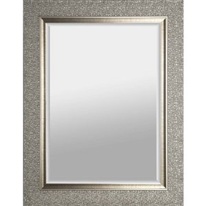 Images 2000 Silver Square Framed Wall Mirror