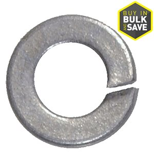 Hillman Galvanized Steel Standard (SAE) Split Lock Washer